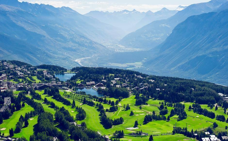 Suisse en camping-car : Crans Montana
