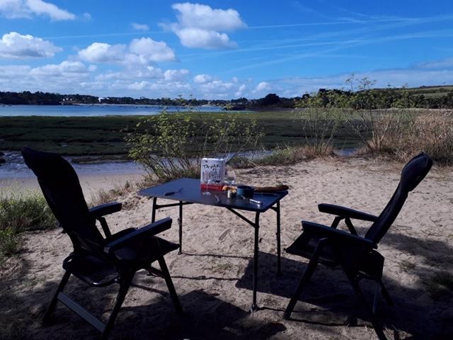 Le Golfe du Morbihan en camping-car : petit déjeuner