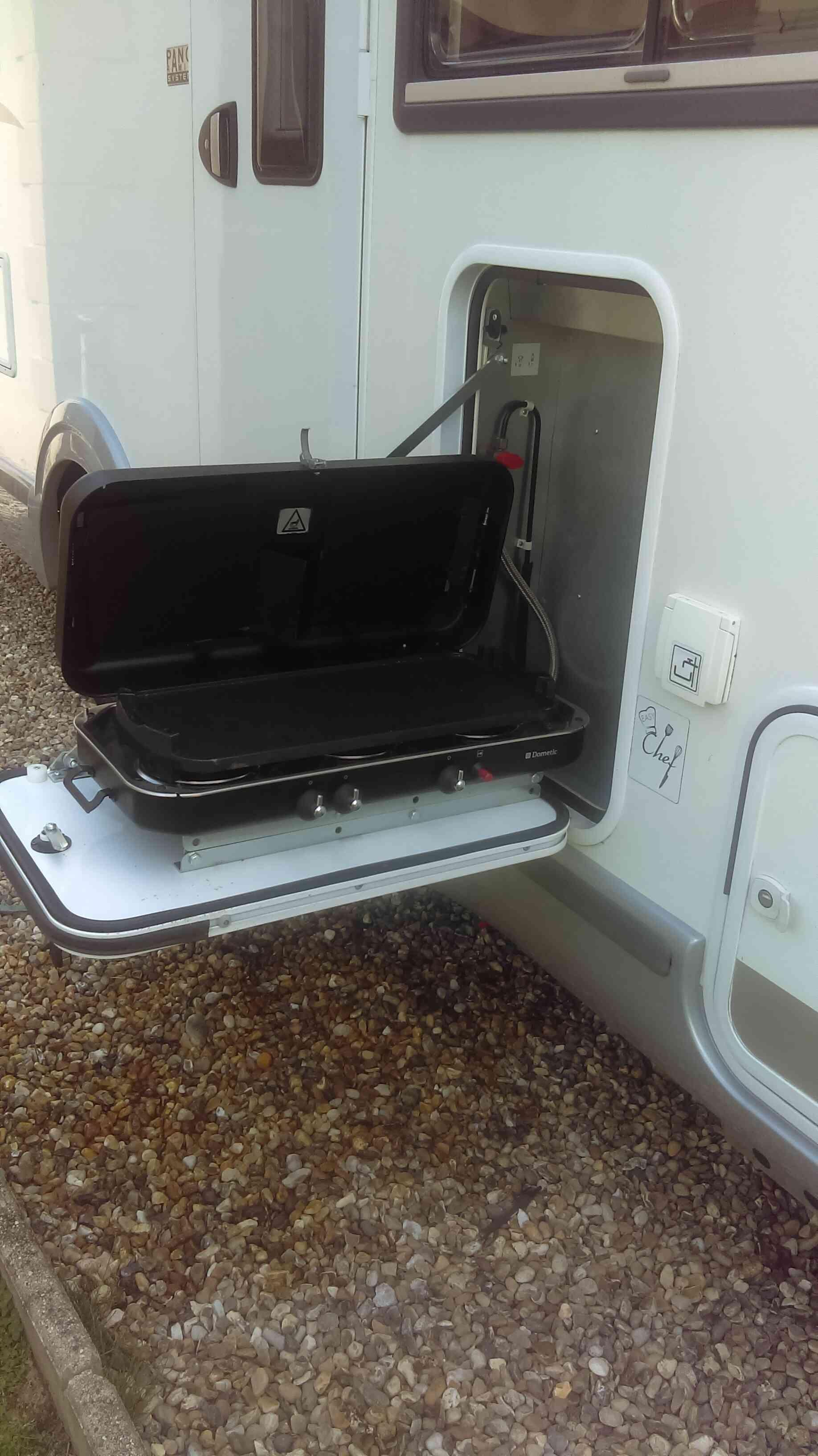 camping-car CHALLENGER PRIUM XG  intérieur / soute
