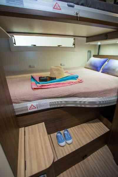 camping-car BENIMAR 340 SPORT  intérieur / autre couchage