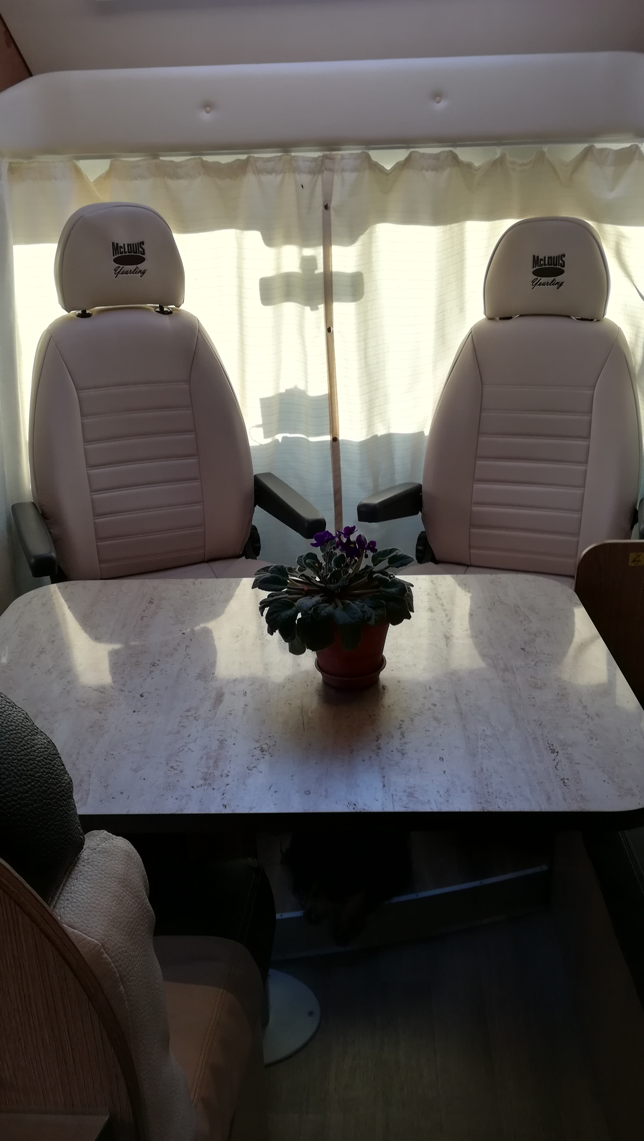 camping-car MC LOUIS MCA 74G  intérieur  / coin cuisine