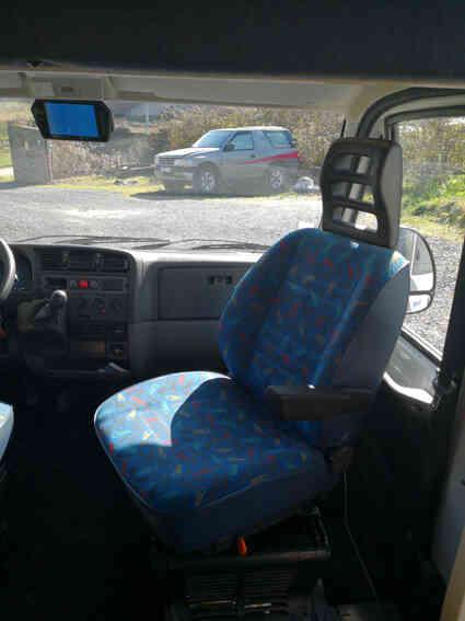 camping-car CI 130  intérieur / autre couchage