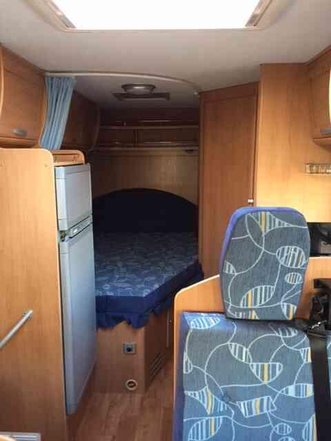 camping-car TRIGANO  ELLIOT 55  intérieur / autre couchage