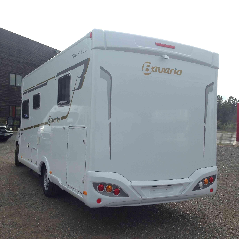 camping-car  BAVARIA T 746 C Style  intérieur / coin salon