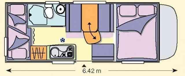 camping-car CHALLENGER GENESIS 43  extérieur / arrière