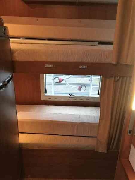 camping-car MC LOUIS TANDY 640 G  intérieur / autre couchage