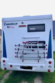 camping-car CHAUSSON FLASH 616  intérieur / coin salon