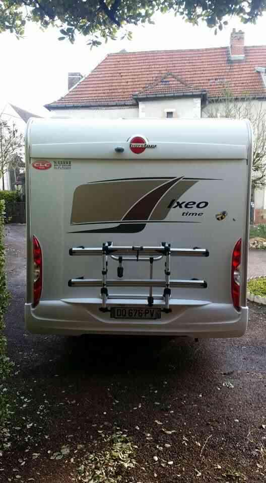 camping-car BURSTNER IXEO TIME IT 700  extérieur / arrière