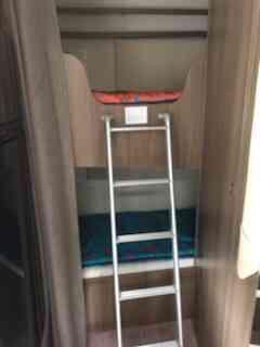 camping-car CHAUSSON FLASH C 636  intérieur / autre couchage