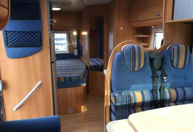 camping-car CHALLENGER MAGEO 107  intérieur / autre couchage