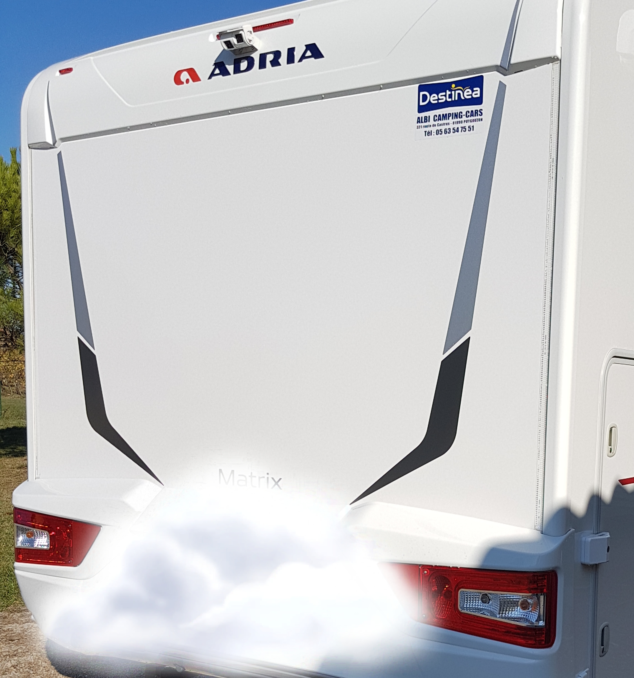 camping-car ADRIA MATRIX AXESS 670 SL  arrière