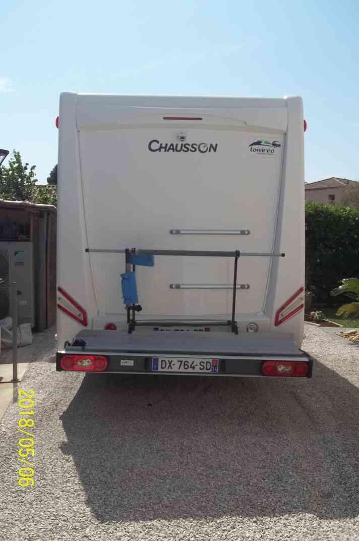 camping-car CHAUSSON WELCOME 628 EB   intérieur / coin salon