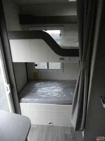 camping-car CHAUSSON C 656 FLASH  intérieur / autre couchage