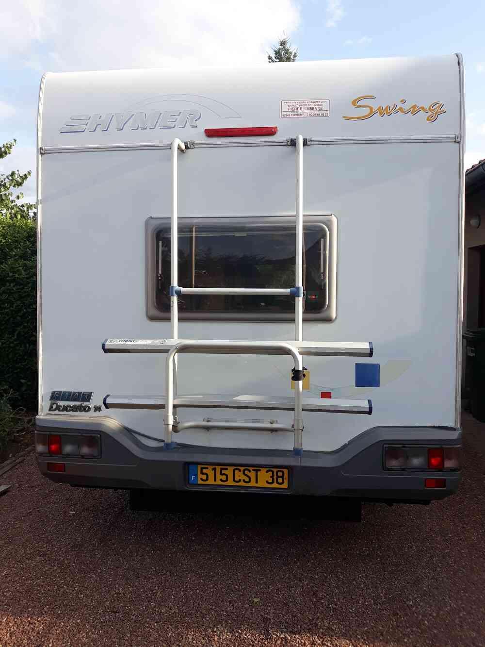 camping-car HYMER Camp 524  intérieur / coin salon