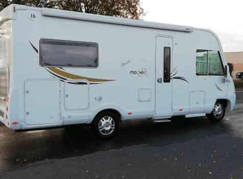 camping-car  MOOVEO 16TC  extérieur / arrière