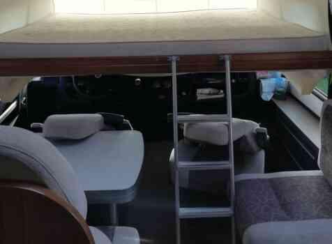 camping-car  MOOVEO 16TC  intérieur / autre couchage
