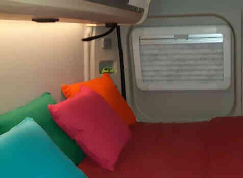camping-car KNAUS BOXSTAR 600 STREET   intérieur / autre couchage