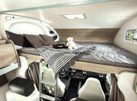 camping-car CHAUSSON C 656  intérieur / autre couchage