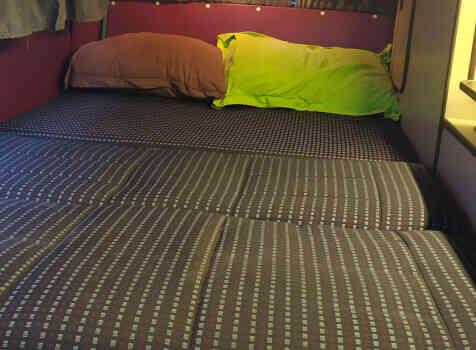 camping-car  WESTFALIA JOKER T3  intérieur / autre couchage