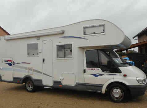 camping-car CHALLENGER 192 GA   extérieur