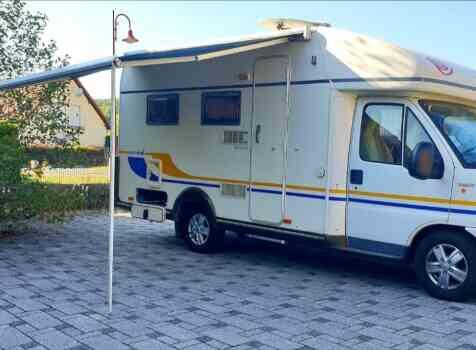 camping-car EURAMOBIL  extérieur /