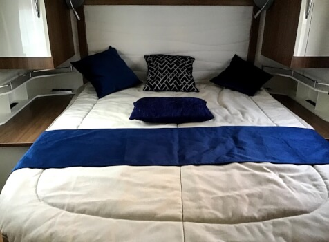 camping-car PILOTE P 740   intérieur / autre couchage