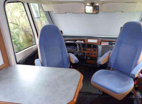 camping-car DETHLEFFS PREMIUM CLASS  intérieur