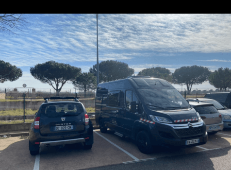 camping-car ROADCAR 540  extérieur / latéral droit