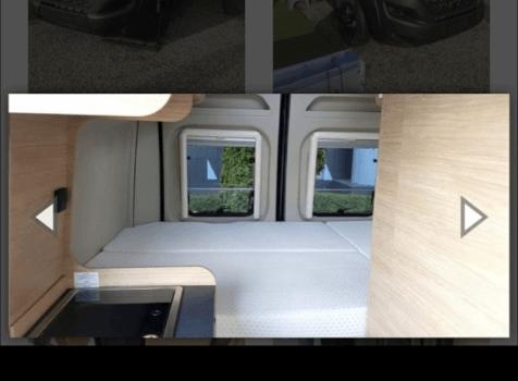 camping-car ROADCAR 540  intérieur / autre couchage