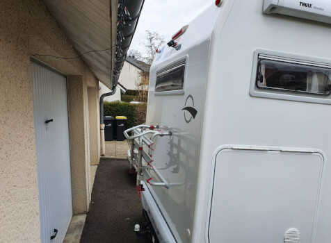 camping-car ROLLER TEAM GRANDUCA 265 P  intérieur / coin salon