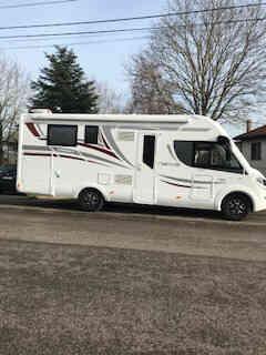 camping-car MC LOUIS NEVIS 79 KARAT   extérieur / arrière