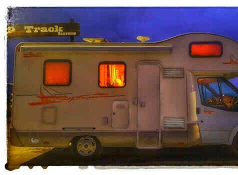 camping-car RIMOR  extérieur