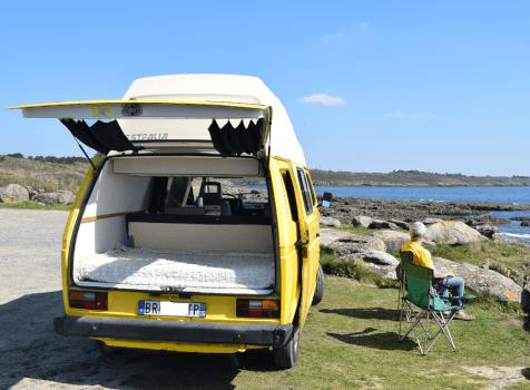 camping-car VW T3 WESTFALIA  intérieur / autre couchage