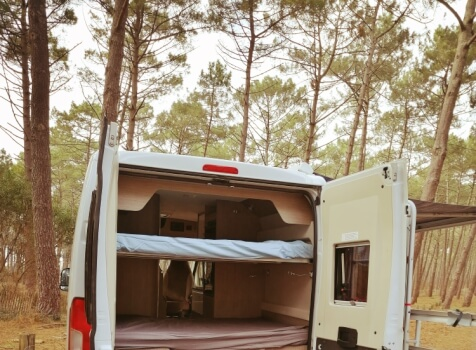 camping-car VANY 114 MAX  intérieur / coin salon
