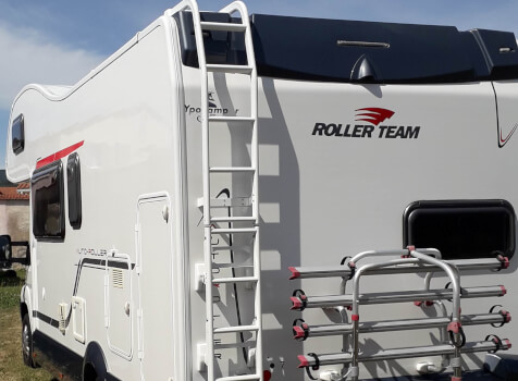 camping-car ROLLER TEAM AUTOROLLER  extérieur / latéral droit