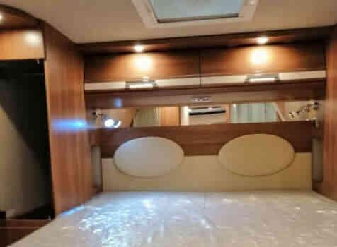camping-car CARTHAGO C TOURER I150  intérieur / autre couchage