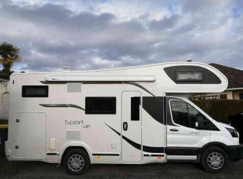 camping-car BENIMAR 340 SPORT UP  intérieur / autre couchage