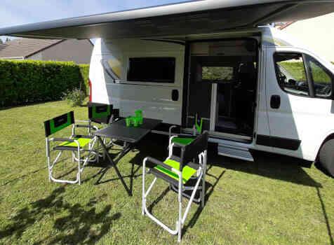 camping-car CI KYROS 5  intérieur / autre couchage