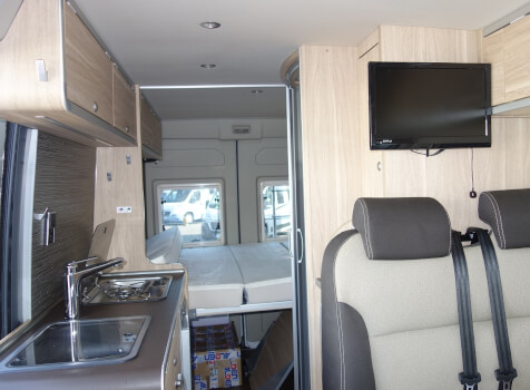 camping-car HYMERCAR GRAND CANYON  intérieur / autre couchage