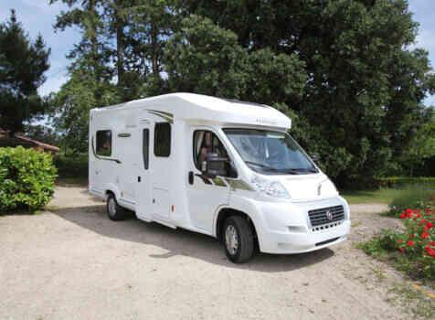 camping-car FLEURETTE FLORIUM MAYFLOWER 65 LD  extérieur / latéral