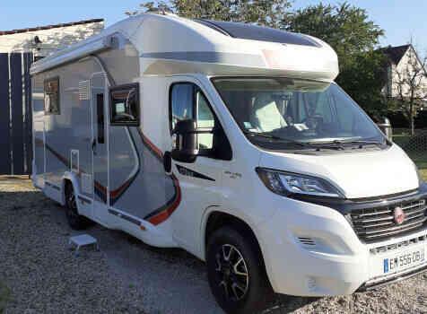 camping-car CHALLENGER 378 XLB GRAPHITE EDITION  extérieur / arrière