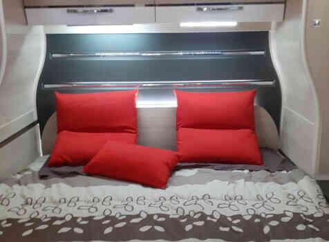 camping-car CHALLENGER 378 XLB GRAPHITE EDITION  intérieur / autre couchage