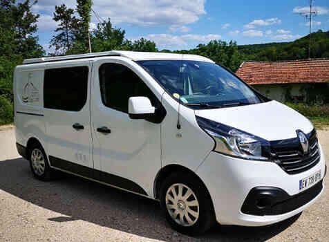 camping-car RENAULT TRAFIC GLENAN   extérieur /