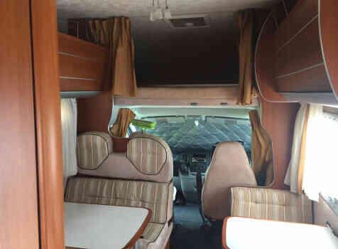 camping-car MC LOUIS TANDY  intérieur /