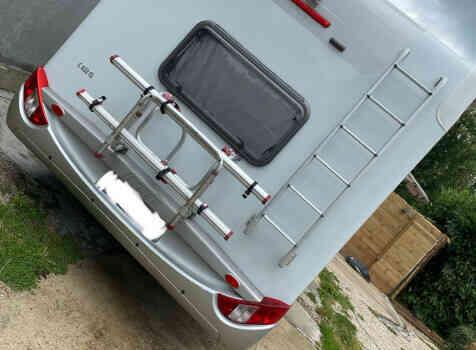 camping-car HYMER CLASSE C  intérieur /