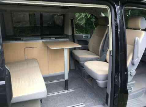 camping-car VOLKSWAGEN TRANSPORTER T5 CALIFORNIA  intérieur / salle de bain  et wc