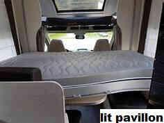 camping-car CHAUSSON FLASH 716  intérieur / autre couchage