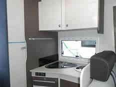 camping-car CHAUSSON FLASH 716  intérieur /