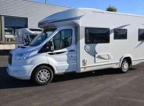camping-car CHAUSSON FLASH 716  extérieur / latéral