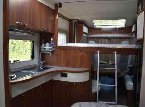 camping-car FLEURETTE FLORIUM MAYFLOWER 65 LD  intérieur / autre couchage